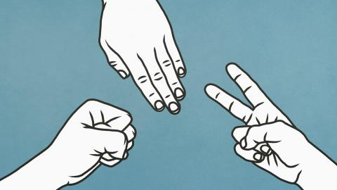 Researchers discover the ultimate Method to win rock-paper-scissors every time