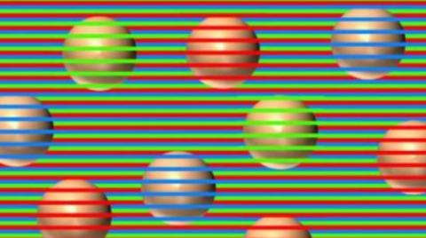 What colour are these balls? This optical illusion has Internet users going mad