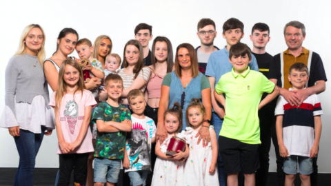 Meet the Radfords: The biggest family in the UK with 22 children