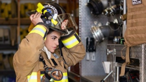 This firefighter was sacked for being too sexy on Instagram