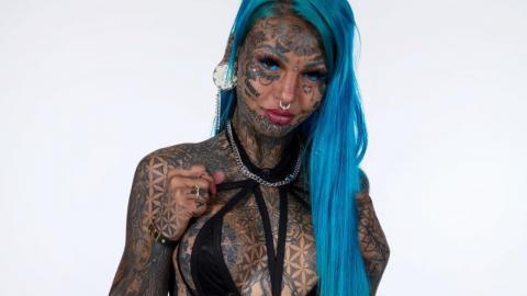 This Woman Spent £87,000 To Cover Her Entire Body With Tattoos