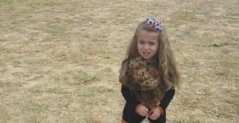 Optical illusion: Internet users are frightened by this little girl's legs