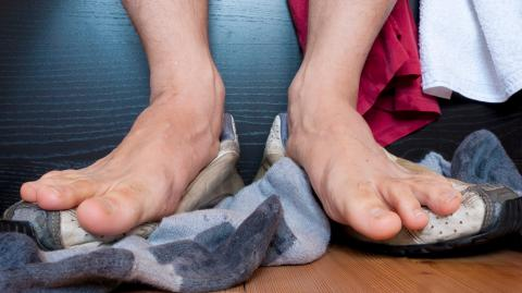 This is the real reason why feet smell like cheese