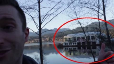 This abandoned floating McDonald's is the world's most haunted fast food restaurant