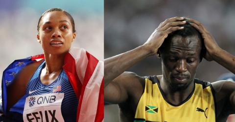 This Athlete Broke A Record Held By Usain Bolt After Coming Back From A Pregnancy!