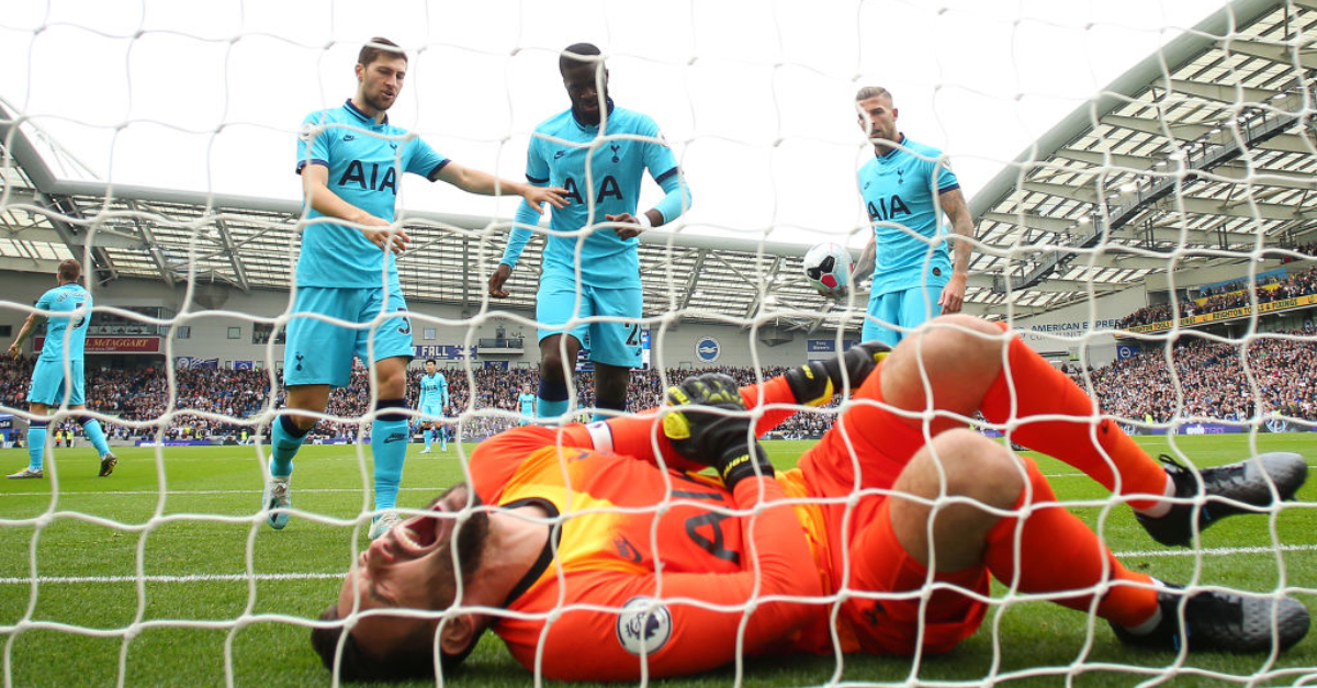 Footage Of Hugo Lloris' Brutal Injury (Video)