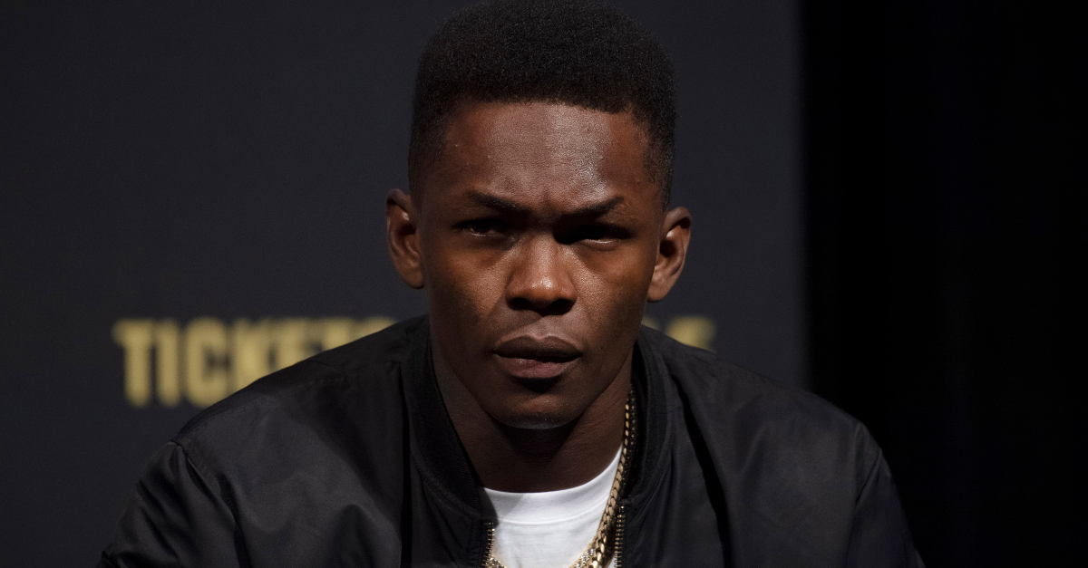 Adesanya's Entourage Was Overjoyed After His KO At UFC 243