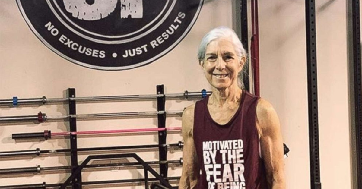 At 72 Years Old, This Woman Does CrossFit Every Day