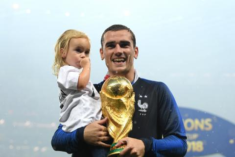 Antoine Griezmann: Why his three children are all born on the same day